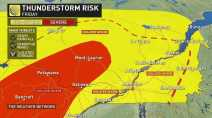 'Dynamic fall storm' slams Quebec with SEVERE weather