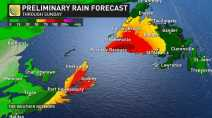 'Conveyor belt of moisture' heightens flood risk in the East