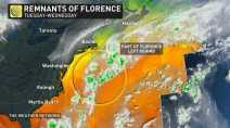'Ghost of Florence:' Remnants may develop into 'hybrid' low